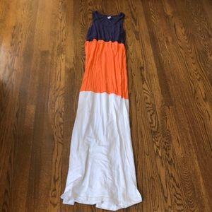 Maternity maxi dress size xs